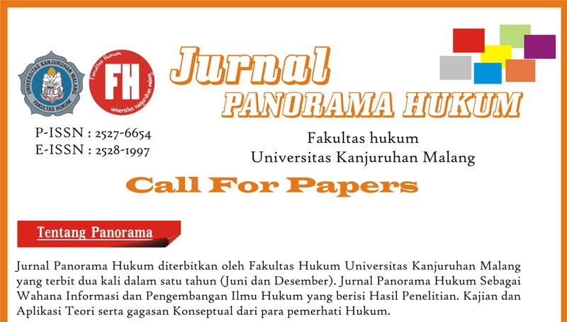 Jurnal Panorama Hukum