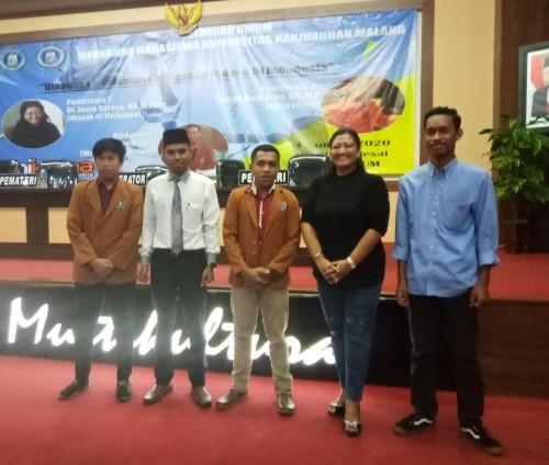 Adakan Seminar Umum, Unikama Berikan Pemahaman Penegakan Hukum di Indonesia