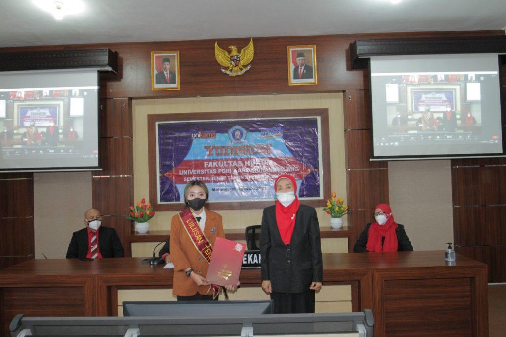 Fakultas Hukum Unikama Gelar Yudisium Semester Genap, Lulusan Harus Pandai Berkomunikasi