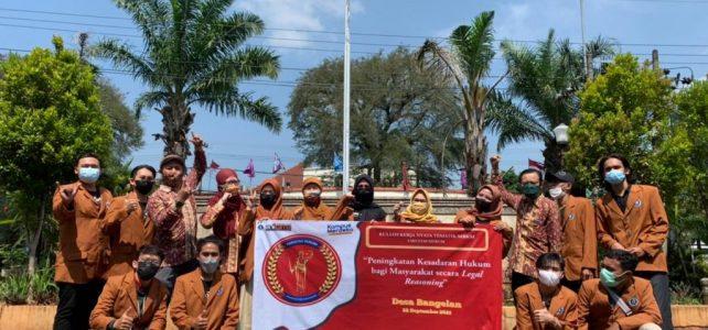 Laksanakan MoA dengan Mitra Non-PT, Fakultas Hukum Unikama Berangkatkan Mahasiswa KKNT